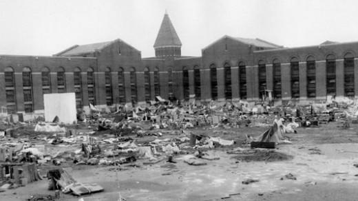 Attica Prison after the riots