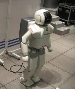 First Humanoid Robot in Space