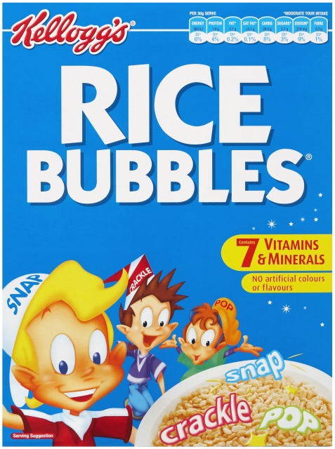 Australia's Equivalent to Rice Krispies - Rice Bubbles (N.B. Contains Barley Malt and contains gluten)