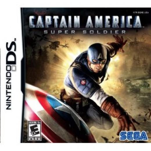 Captain America DSi Game
