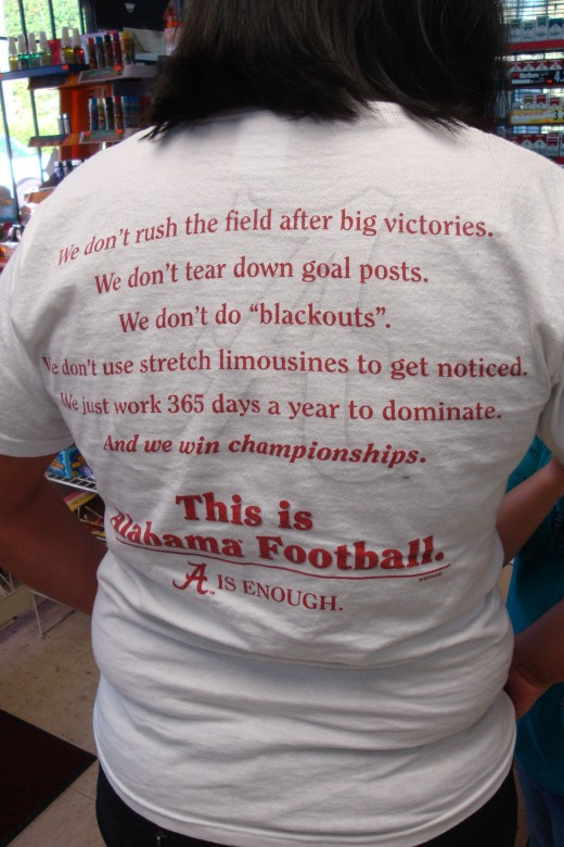 This is Alabama Football