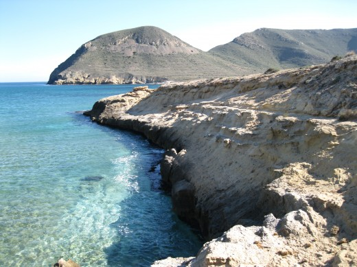 One of the beaches outside of Cabo de Gata