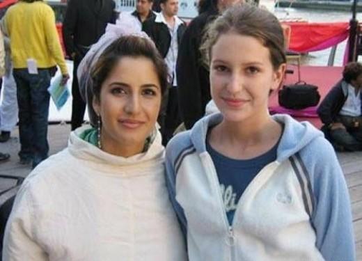 Katrina kaif cute childhood photos with family