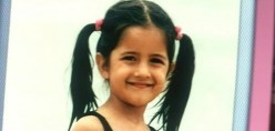 Katrina kaif cute childhood photos with family