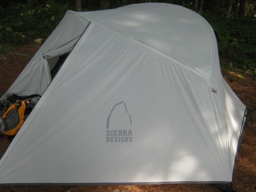 The Sierra Designs LT Strike 2 provides extreme comfort and only weighs 3 lbs 6 oz.