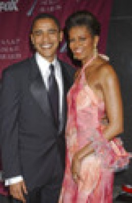 President and Ms. Obama, make a lovely couple, power team and unstoppable tennis partners. I should know. They beat me.