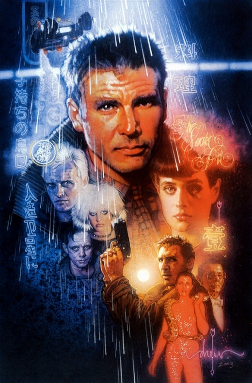 Blade Runner (1982) art by Drew Struzan