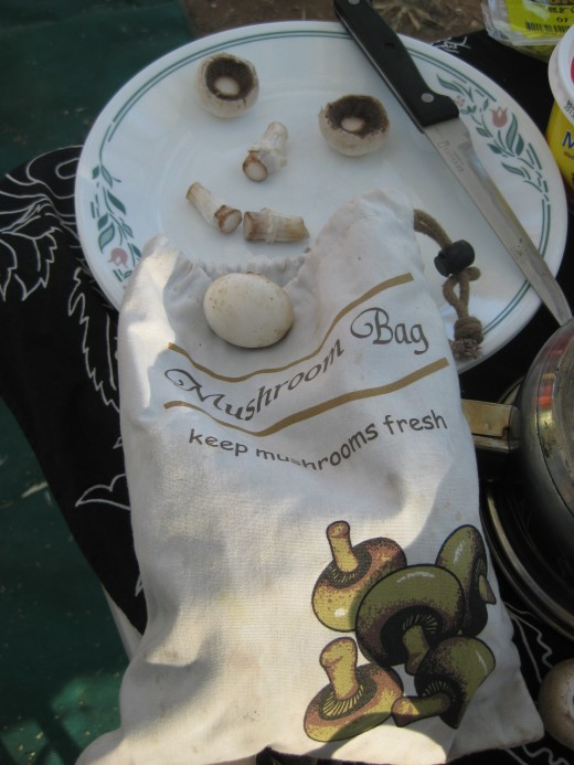 Keep mushrooms longer using a special mushroom bag !