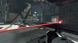 "Test Chamber 02 in Chapter 2 ""The Cold Boot"" of Portal 2."