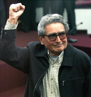Abimael Guzman, founder of Shining Path