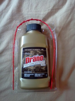 how to fix a clogged drain with drano snake plus pro concentrate gel
