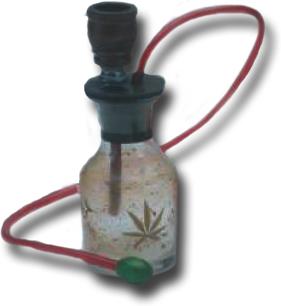 """Marijuana """"bong"""" or water pipe"""