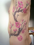 Japanese Cherry Blossom Tattoo