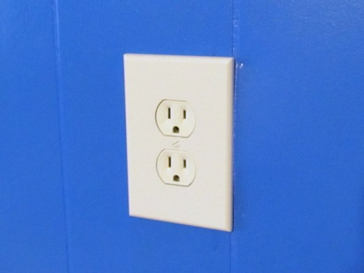 New White outlets and cover plates
