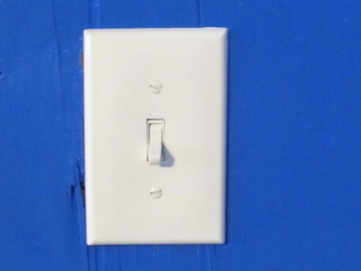 New white lightswitches and covers as well
