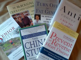 Helpful books to teach you about proper nutrition.