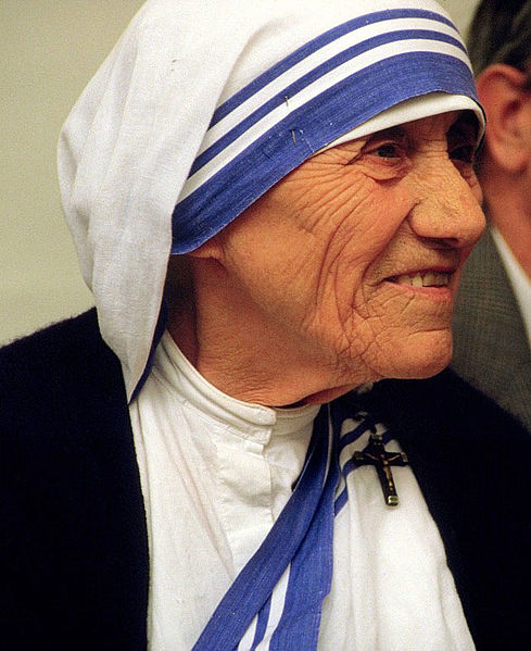 Mother Teresa. She helped so many others prepare for the Kingdom of God.