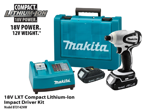 Makita Compact Cordless Driver Kit
