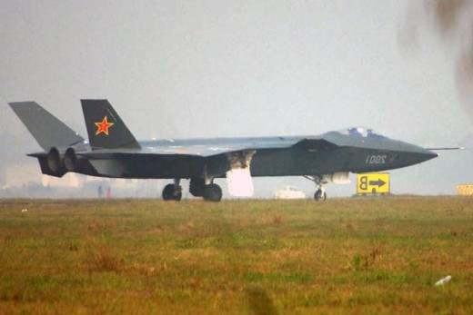 Chinese J-20 stealth fighter