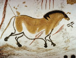 Paleolithic cave painting from the Magdalenian culture showing a high level of sophistication.