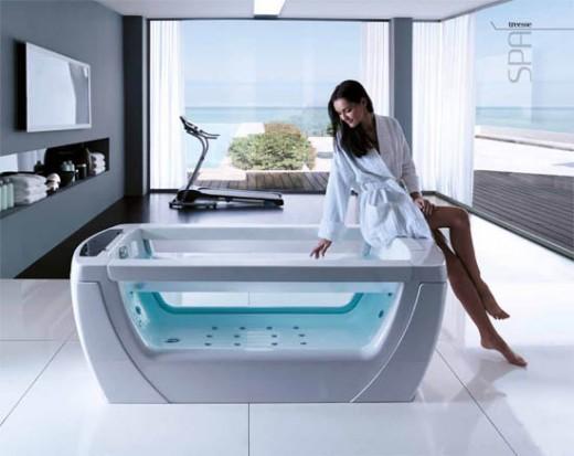 Tresse jacuzzi bathtub