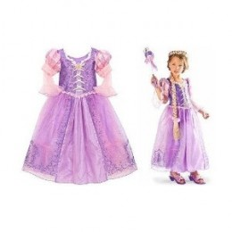 Tangled Rapunzel Costume Dress