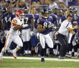 Lee Evans will provide the Ravens something they have lacked, speed