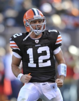 Colt McCoy may just be the quarterback of the future