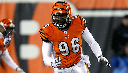 Carlos Dunlap made it easier on the front office to cut Antwan Odom