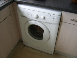 Washing machines and similar appliances should be emptied prior to starting a DIY plumbing job