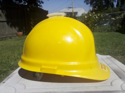 Hardhats are particularly useful in Industrial Environments. Often times plumbers have to work where floors have rotted because of leaks and these hardhats protect their head from falling debris.
