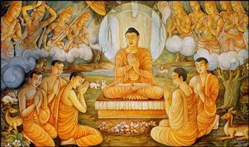 BUDDHA'S FIRST SERMON