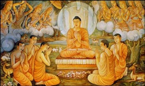 BUDDHA'S FIRST SERMON