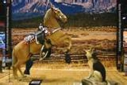 TRIGGER AND BULLET, two animal sidekicks of King of The Cowboys, Roy Rogers.