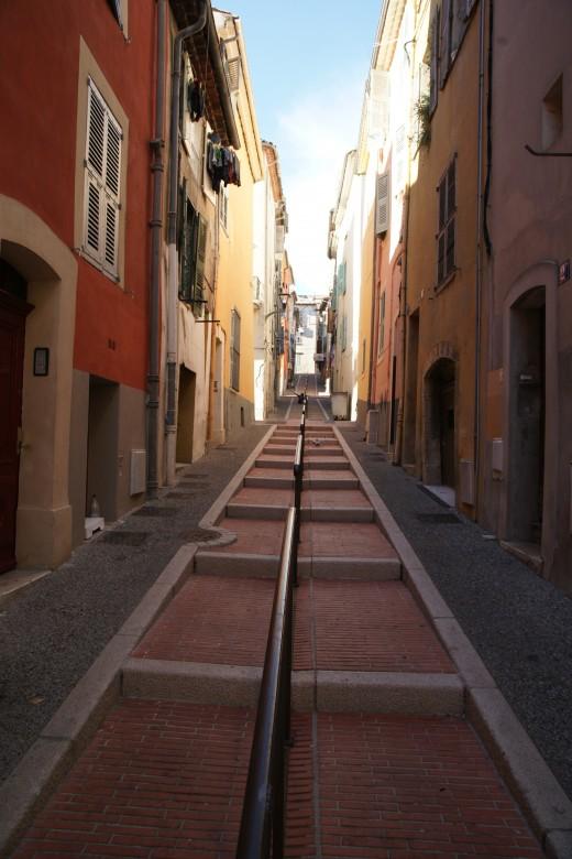 Rue Lascaris, Vallauris, France