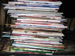 Remember when you used to love getting catalogs in the mail?