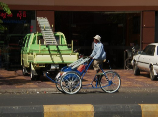 Curious Transportation, Streets of Phnom Phen