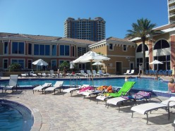 One of the community pools at Portofino Island Resort and Spa