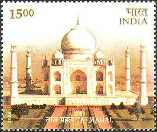 Taj in Stamps, India