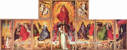Rogier van der Weyden's painting The Final Judgme.nt was instrumental in Peter Hitchen's conversion from atheism to Christianity