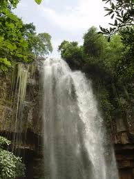 Waterfall at Chambok