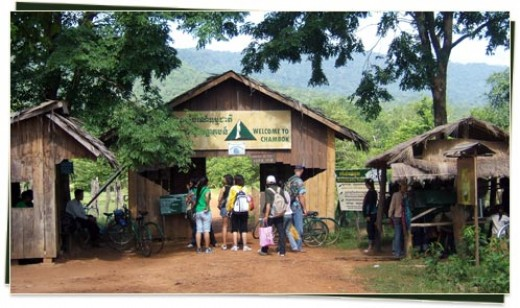 Entrance to Chambok Community-based Ecotourism
