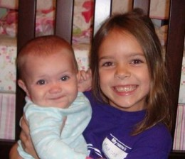 Madison and Peyton(Granddaughters)