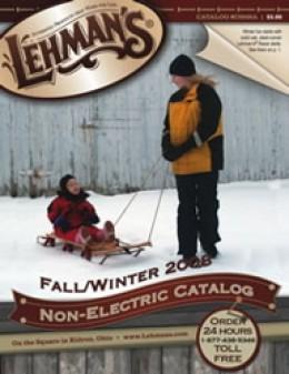 Lehman's Non-electrical catalog, cover.