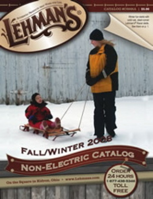 Lehman's Non-electrical catalog, cover.