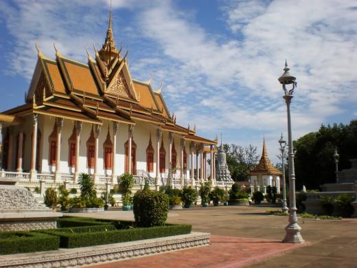 Silver Pagoda, Phnom Phen