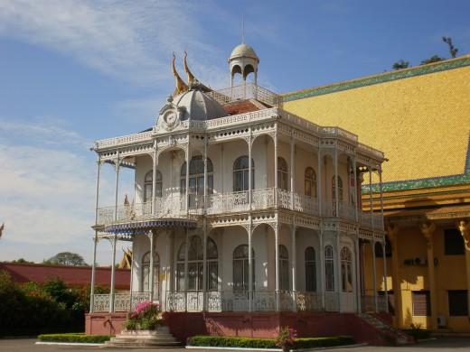 Royal Palace Compound, Phnom Phen