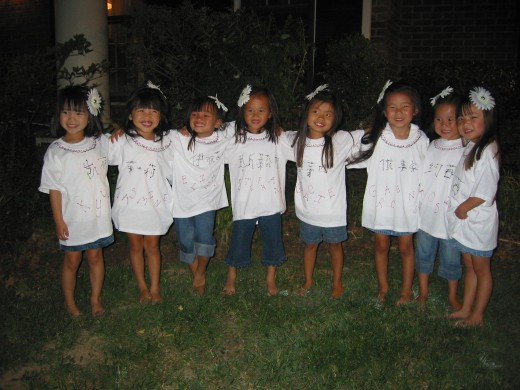 Chinese girls adopted from China