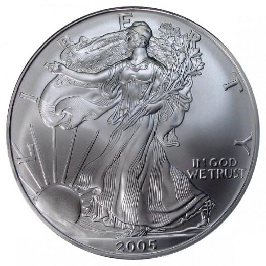 Us Silver Eagle Coin
