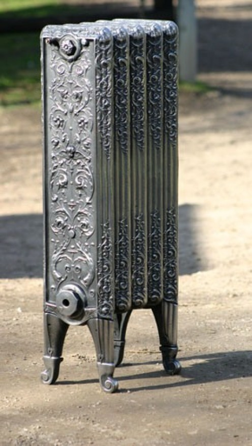 Peerless Two-Column, Five Section Cast Iron Radiator